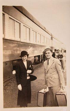 vintage train travel by glassgrrl_ok, via Flickr