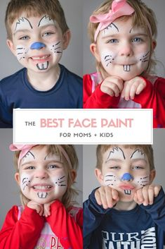 Simple face painting designs are not hard. Many people think that in order to have a great face painting creation, they have to use complex designs, rather then simple face painting designs. Face Painting Supplies, Face Painting Designs, Painting Patterns, Paint Designs, Cool Face Paint, Mime Face Paint, Cheek Art, Simple Face, Painted Sticks