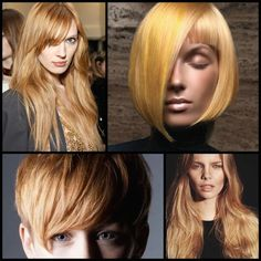 Hair Color Inspiration and Formulation: Gilded Strawberry Blonde