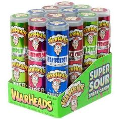I'd get these from trips to Toys'R'Us, but they'd end so fast. I looove[d] sour candy.