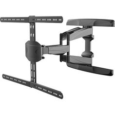 TygerClaw Full Motion Wall Mount for 32 in. - 65 in. Curved Flat Panel - The Home Depot Flat Tv, Flat Panel Tv, Full Motion Wall Mount, Curved Tvs, Exterior Cladding, Cold Steel, Steel Material, Wall Mounted Tv, Flat Screen