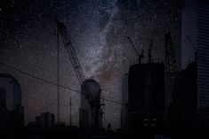 Darkened Cities: Photo Series by Thierry Cohen | Inspiration Grid | Design Inspiration