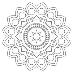 free printable mandala coloring pages - Mandala Coloring Pages Free Printable