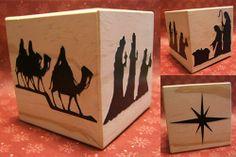 Memories By Anna Dawn: Nativity Blocks