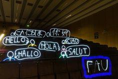 """Platz 2: """"Die FAU sagt Hallo!"""" von Nico Moroff"""