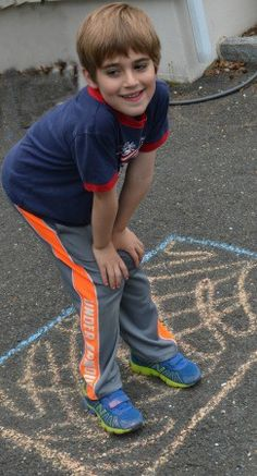 Playing Corners - active game for practicing colors, letters, and number!