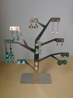 Albero porta orecchini in acciaio inox by Zambaldo Design