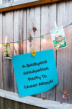 Graduation party ideas that could inspire you to party in your backyard all summer long! | The Party Goddess! #graduationparty #graduation #eventplanner #backyardparty