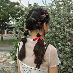 New Balance phenomenon My Hairstyle, Pretty Hairstyles, Girl Hairstyles, Kawaii Hairstyles, Easy Hairstyles, Wedding Hairstyles, Cut My Hair, Hair Cuts, Hair Inspo