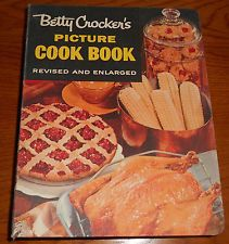 VINTAGE 1956 BETTY CROCKER'S PICTURE COOK BOOK REVISED 2ND EDITION 1ST PRINTING