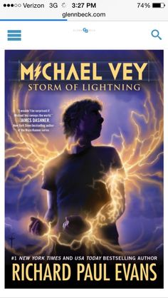 The cover of the new Michael Vey! I haven't even read the third one..or is it the fourth?