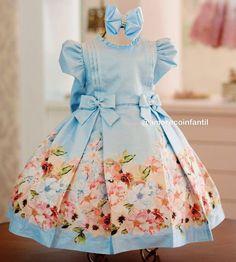 Kids Party Wear Dresses, Kids Dress Wear, Baby Girl Party Dresses, Little Girl Dresses, Baby Frocks Designs, Kids Frocks Design, Baby Girl Dress Patterns, Frocks For Girls, Toddler Dress