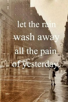 Rain quotes and pics