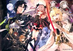 This Week's Anime of The Week Owari No Seraph. Its is a truly great anime to watch . Manga Art, Manga Anime, Anime Art, Yandere, Animes Online, Mikaela Hyakuya, Seraph Of The End, Owari No Seraph, Character Wallpaper