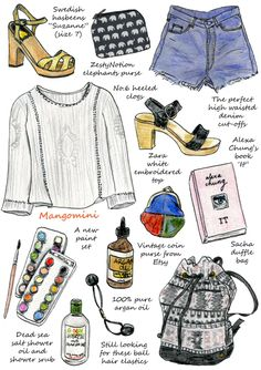 My wishlist for Summer by Mangomini