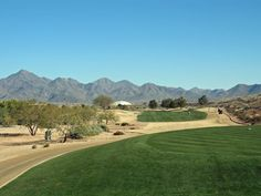 TPC Scottsdale Champions Course Pictures: Ribbons of Green