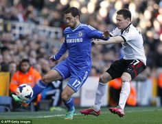 Eden Hazard was again in sparkling form in the 2nd half for Chelsea against Fulham