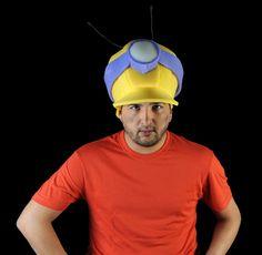 Gorro goamespuma: Casco de abeja obrera