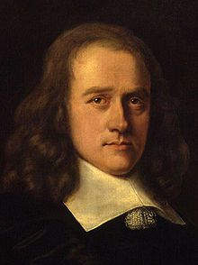 John Thurloe (June 1616-21 February 1668) by an unknown artist. He was Cromwell's spymaster. He's not exactly James Bond!