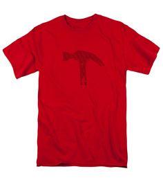 Hammer Men's T-Shirt (Regular Fit) featuring the photograph Build And Break by Sverre Andreas Fekjan