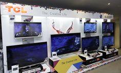أجهزة LCD & LED TVs من TCL .. الآن بضمان مجموعة العربى