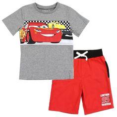 71e1949e7 Toddler Boy Outfits, Toddler Boys, Disney Pixar Cars, Lightning Mcqueen, Boy  Shorts