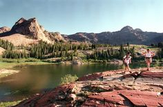 10 great hikes to Utah mountain lakes. I'm pinning this mostly as a joke, since I DO NOT hike.