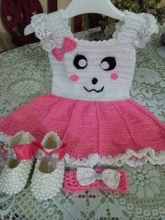72c2d8155 15 Best فساتين اطفال كروشيه images in 2018 | Crochet baby, Crochet ...