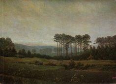 Friedrich, Caspar David: Der Nachmittag