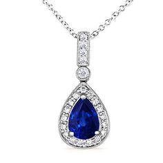 Angara Diamond Infinity Loop Pendant 7xvt5hxk