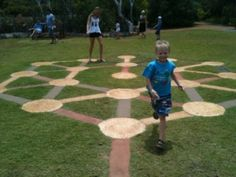 """Amaze'n Margaret River  """"the Stepping Stone puzzle, you must follow the circles in the order of white-red-black to find your way to the middle. This had us all stumped for ages, then when you finally find your way to the middle you have to remember how you did it!"""""""