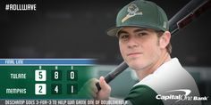 59743c521a3d9 FINAL SCORE OF GAME ONE  Tulane  ROLLWAVE Scores