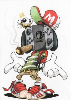 Image of Switch Stance Illustration