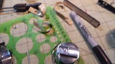 MHS Graflex Custom Lightsaber Build. Custom made pommel end cap. ESB/Force Awakens style D-ring riveted on.