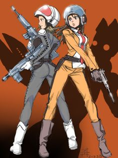 Fuji and Anne (from Ultraman and Ultra 7) team-up!