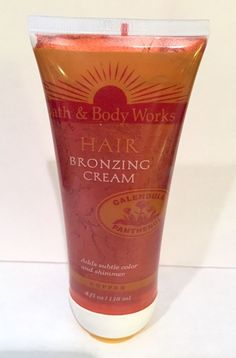 Bath & Body Works Hair Bronzing Cream, 1990s