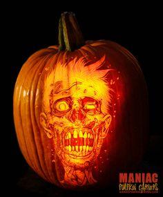 Creative works of art made of pumpkin