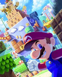 Super Mario Bros, Super Mario Kunst, Super Mario World, Super Smash Bros, Mario Und Luigi, Mario And Princess Peach, New Images Hd, Mundo Dos Games, Nintendo World
