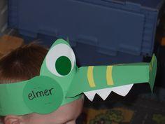verjaardagskroon; krokodil