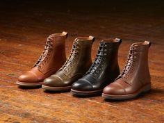 comfortable and stylish boots handcrafted in Lewiston, Maine USA