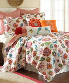 Look at this #zulilyfind! Abigail Quilt Set by Levtex Home #zulilyfinds