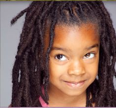 love the locks. Natural Afro Hairstyles, Girl Hairstyles, Dreadlock Hairstyles, Kids With Dreadlocks, Baby Dreads, Curly Hair Styles, Natural Hair Styles, Dreadlock Styles, Black Hair Care