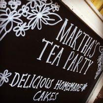 Chalkboard | Martha's Tea Party