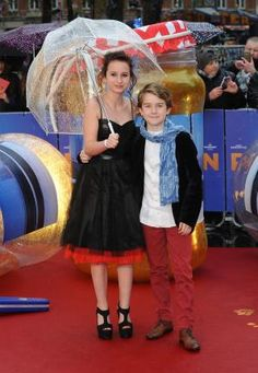 English actress Madeleine Harris and English actor Samuel Joslin attend the World Premiere of 'Paddington' at Odeon Leicester Square in London on November 23, 2014. UPI/Paul Treadway  Read more: http://www.upi.com/News_Photos/Entertainment/Paddington-premiere-in-London/fp/8713/#ixzz3K1EiVGmi