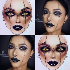 """3,330 Likes, 11 Comments - Sergey X (@milk1422) on Instagram: """"#artistmilk1422 #artist @ulamakeup ✨The makeup is stunning! It's perfect 🖤🖤🖤 thank you so much 🌟…"""""""