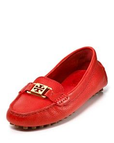 Tory Burch moccasins...awesome colour!!!