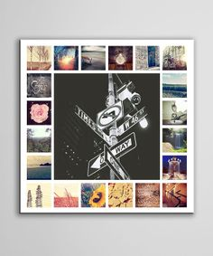 Instagram Collage by NiagaraCanvas on Etsy, $45.00
