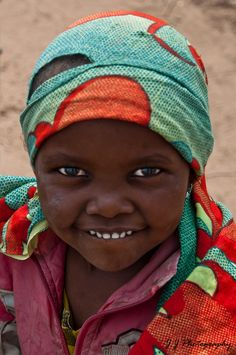 Smile for me! Africa.