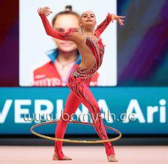 Arina AVERINA (Russia) ~ Hoop @ World Cup Baku-Azerbaijan 28-30/04/'17 Photographer Bernd Thierolf.