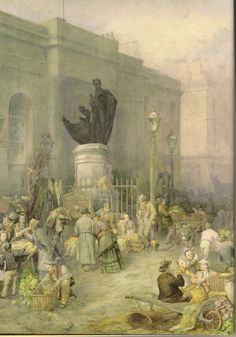 Bull ring pics...titled....market morning Birmingham 1876